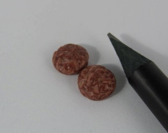 Offer! Burger, Burger with cheese and salami in miniatures 1:12 Dollhouse
