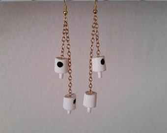 NY fat cap earrings