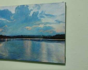 The Bay: Original Oil Painting
