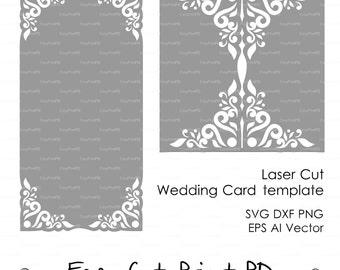 Laser Cut Templates Paris Eiffel Tower Invitation Card