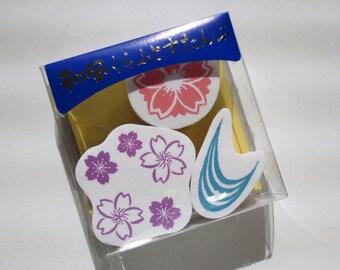 Japanese Style Craft Stamp Set - Sakura