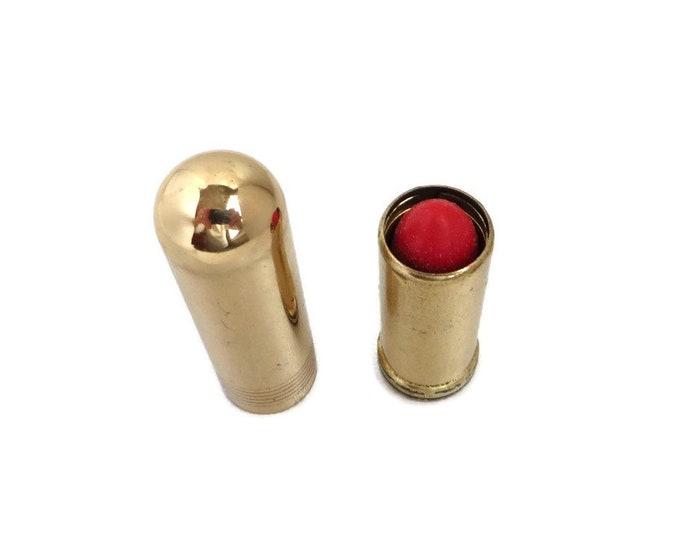 Cutex Lipstick, Vintage Lipstick, Fire Engine Lipstick, Red Lipstick, Collectible Makeup, Collectors Gift Idea