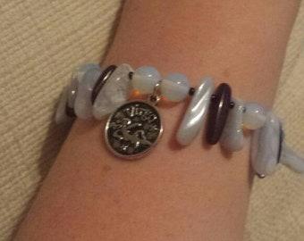 Handmade Zodiac Stretchy Bracelet