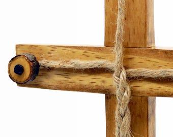 Kreuz, Rustikale Holz Kreuz, Rustikale Kreuz, Holz Kreuz, Jesus, Holzkreuz,