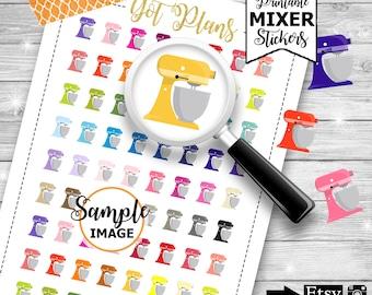 Kitchen Stickers, Planner Stickers, Baking Stickers, Printable Stickers, Printable Planner Stickers, Planner Printables