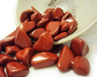 3 Red Jasper, Tumbled | 0.5 - 0.75"