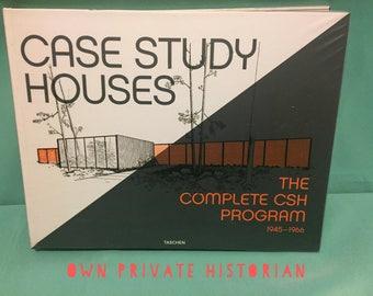 Case Study Houses 1945-1966 - Julius Shulman Signed Autographed