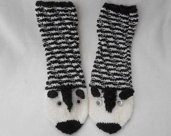 """Socks """"Zebra"""""""