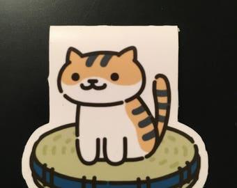 Neko Atsume magnetic bookmark