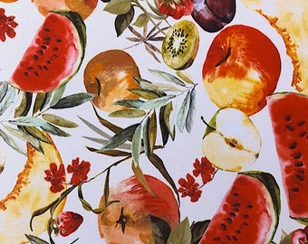 Polyester printed fruit