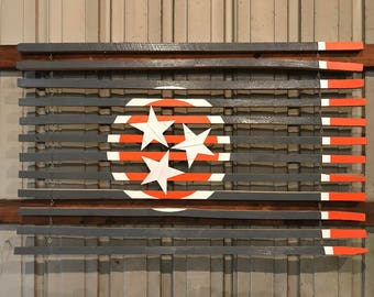 Tennessee Vols Edition Tobacco Stick Flag