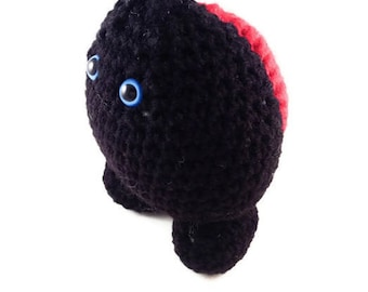 Handmade Crochet Amigurumi Lady Bug Plush Stuffed Animal Plushie Soft Toy Pet