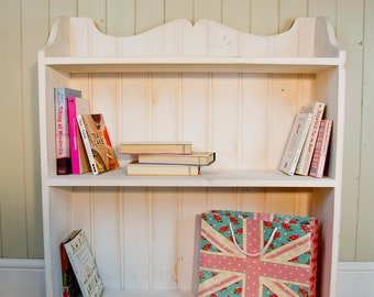 Daphne Bookcase - A freestanding bookcase traditionally constructed from redwood pine with housed, glued and pinned joints.