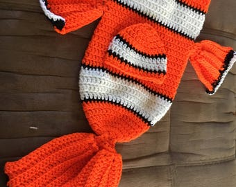 Clown Fish Baby Cacoon