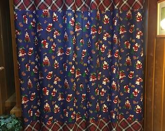 Christmas Santa Shower Curtain