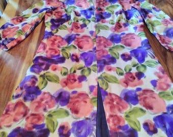 Beautiful floral vintage dress