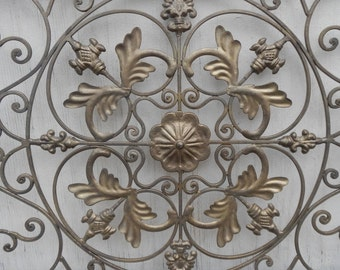 Large Architectural Decorative Metal Wall Decor!