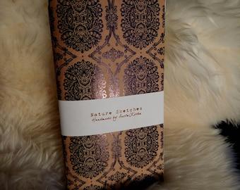 Damask Pattern Notebooks (fits Traveler's Notebook)