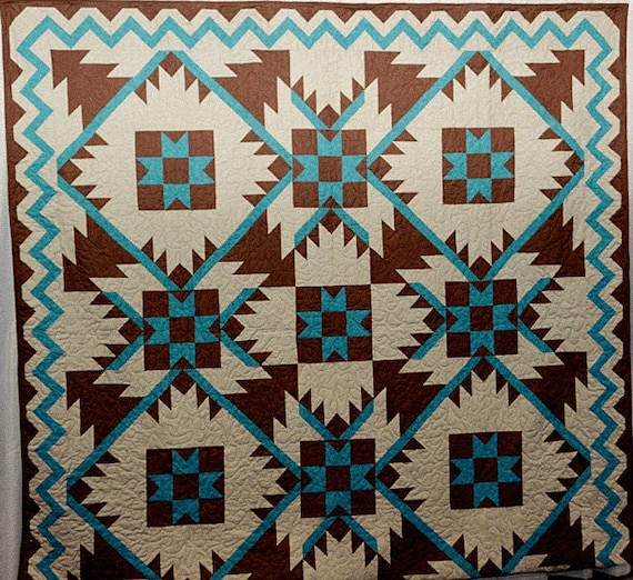 Southwest Mountains Quilt Pattern