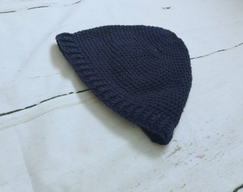 Slouchy Beanie - Beanie - Baggy Hat - Navy - Slouch Beanie - Mens Beanie - Mens Slouch Hat - Beanie Hat - Navu Hat - Mens Hat - Running Hat