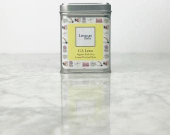 C.S. Lewis Tea - Loose Leaf Tea.. The perfect Literary gift, Mothers Day Gift for Tea Lover, Book Lover or Bibliophile! Earl Grey