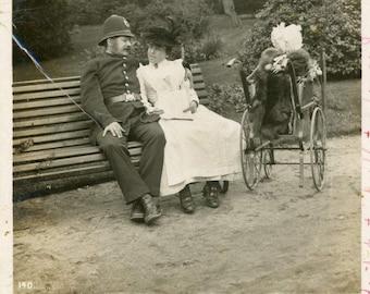1907 Police postcard
