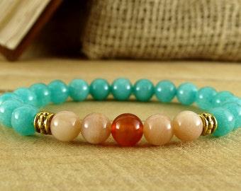 Summer Jewelry Womens Bracelet Quartz Jewelry Birthday Gift For Girl Wife Gift For Sister Womens Healing Energy Mother Gift For Girlfriend