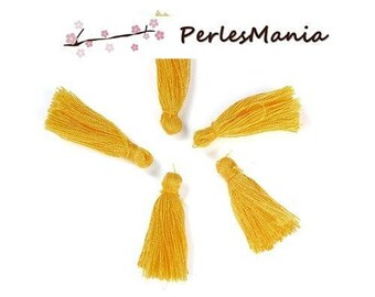 10 tassels passementiere charm 30mm (S1191826) canary yellow