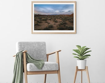 Purple Mountains  Unframed Photo Print