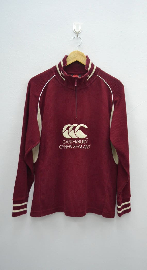 Rare!! Vintage Canterbury Of New Zealand Sweatshirt Jumper Pullover Nice Design XL size pXJhjDJ