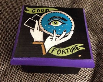 Fortune Teller's Trinket Box