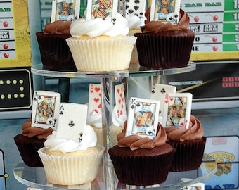 24 SET Edible Playing Cards Edible Images  - by Little Hope Cakes