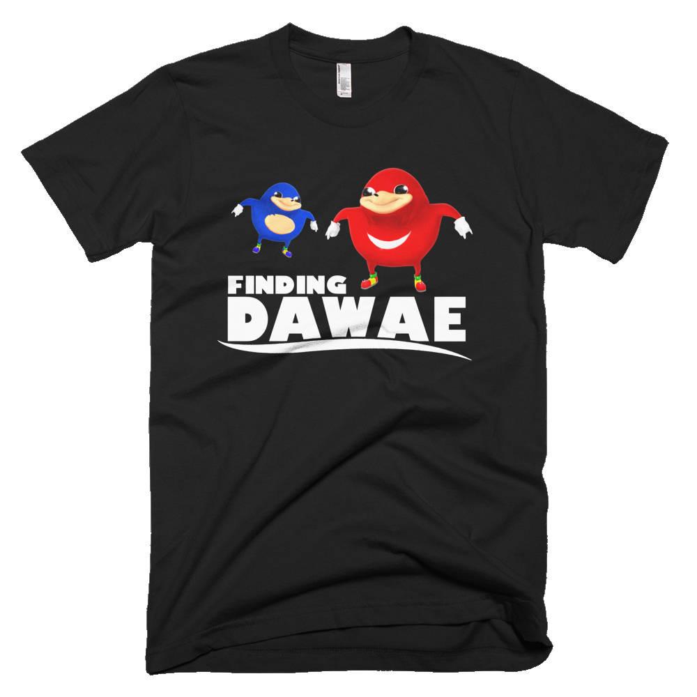 Uganda Knuckles Meme Shirt Finding Da Wae Do You Know The