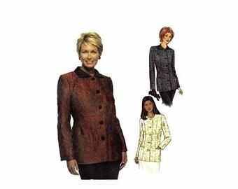 SALE Butterick 3239 Misses Princess Seam Jacket Sandra Betzina Sewing Pattern Full Figure Bust 40 1/2 - 43 - 46 UNCUT