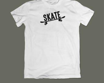 T-shirt Skate White