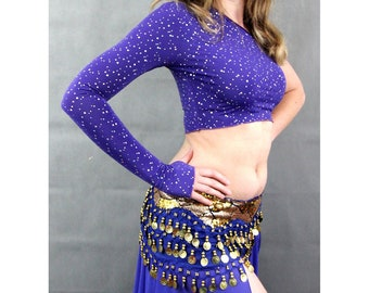 Sparkly belly Dance Top
