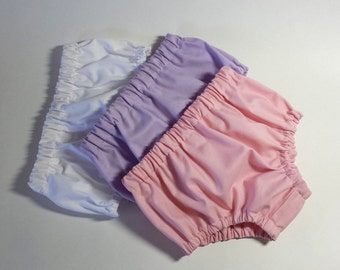 NEW STYLE BLOOMERS! Toddler Diaper Covers - Toddler Size Bloomers - Slim Style Bloomers - Perfect Under Dresses - Size 18months, 2T, or 3T