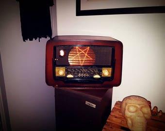 Vintage Radio model Evil