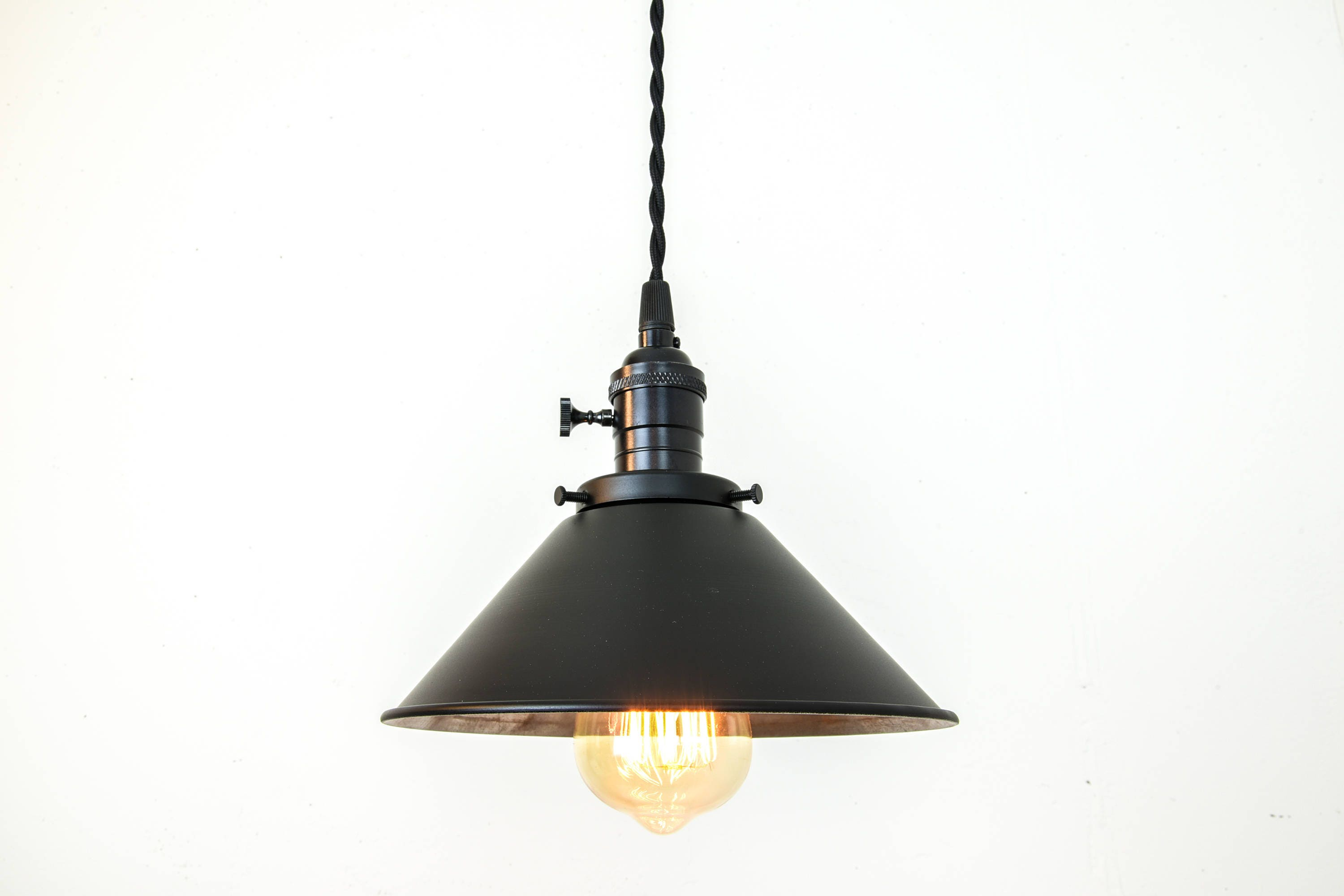 pendant rustic art light black products steel fdad metal unitarylighting shade