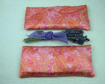 """Lavender """"Liliana"""" Silk Eye Pillow"""