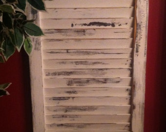 "Wooden Shutter, Any color, 15x42""  Custom Colored Shutter."