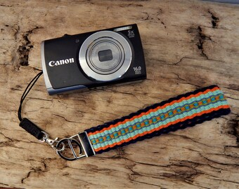 Handwoven Key Chains/Fobs, Luggage ID, Small Camera Wrist Strap
