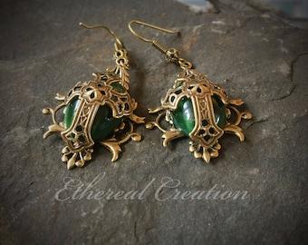 Celtic Earrings, Celtic Cross Earrings, Medieval Dress, Medieval Costume, Renaissance Dress, Renaissance Costume, Ren Faire, Ancient Earring