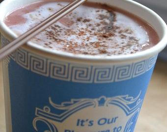 Coffee Soap - Coffee Cart Cappucino Soap - Cappucino - Espresso - Starbucks Latte - Novelty Soap - Fathers Day - Gift for Him - Mens Soap