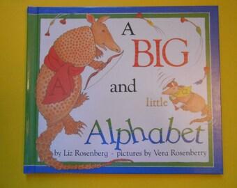 A Big and Little Alphabet, a Vintage Children's ABC Book