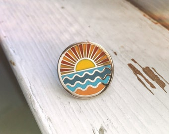 Ocean - Hard Enamel Pin