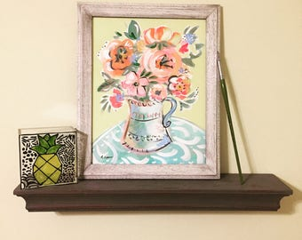 Home Decor/ Floral Still Life