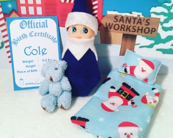 Baby Elf Cole The Shelf Sitter Doll With Accessories