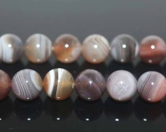 "Natural Botswana Agate Round Beads,Natural Botswana Agate Beads,4mm 6mm 8mm 10mm 12mm Natural beads,one strand 15"",Agate Beads"