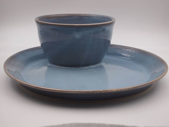 & Ceramic Plate All in One Soup and Sandwich Bowl and Plate